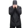 Houdini M's Sherlock Coat Rock Black